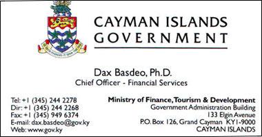 Полезный контакт на Каймановых островах