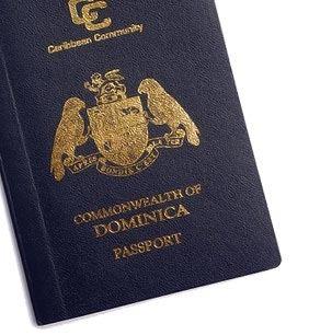 паспорт содружества Доминики