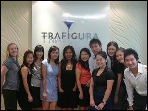 Trafigura переезжает в Сингапур