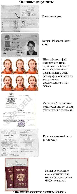 документы для гражданства Невис