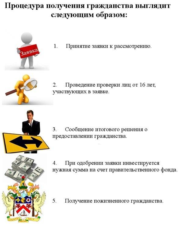 процедура гражданства Невис