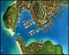 гавань в Невисе