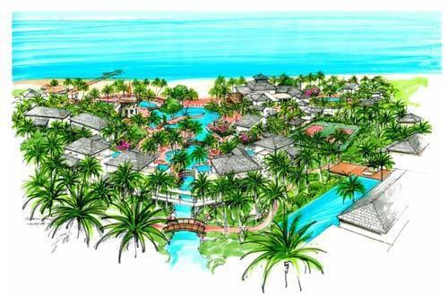 план курорта на Невисе