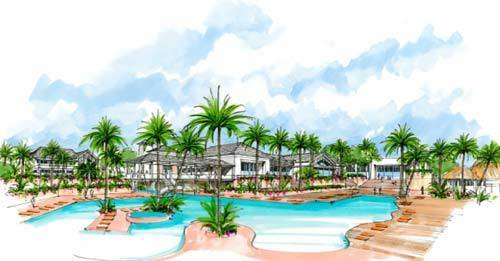 Дизайн проекта отеля Park Hyatt St. Kitts