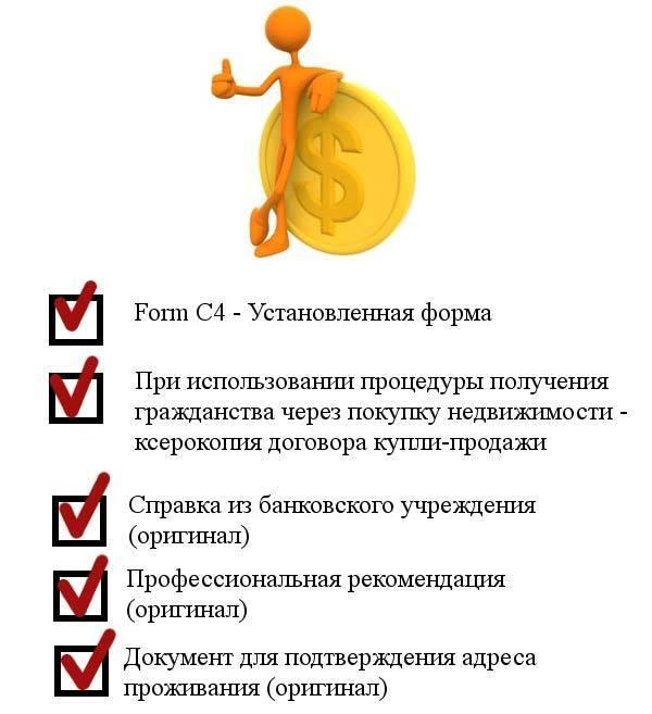 документы для инвестора Невис