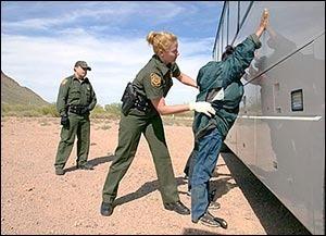 Пересечение границы США