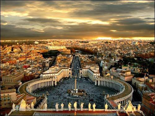 жизнь в Риме
