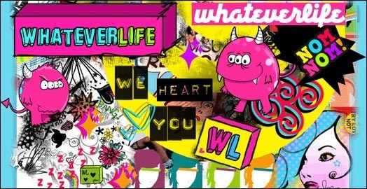 Whateverlife.com: MySpace Layouts Site