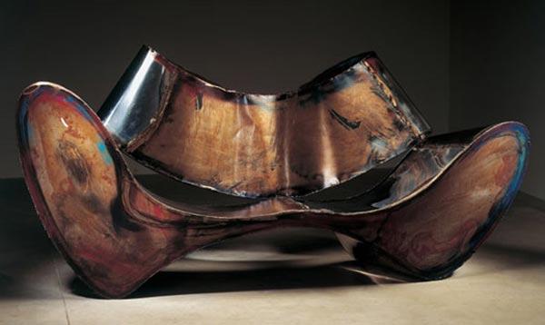 Ron Arad Stainless Steel Sofa