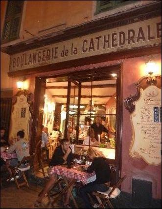 ужин в Ницце