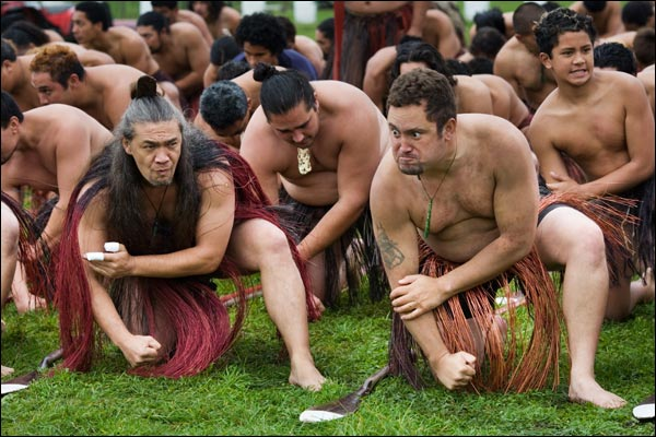 злость новозеландца