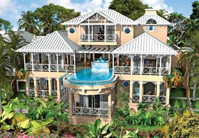 городской домик Гренады