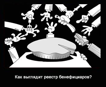 реестр бенефициаров
