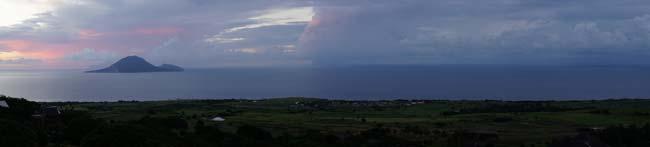 закат Невис