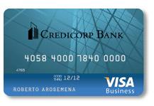 Корпоративная карта Visa Credicorp Bank