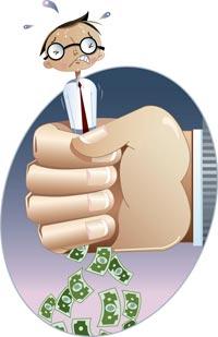 Вытягивание денег