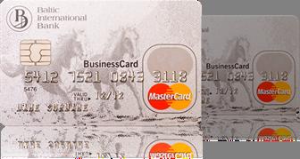 Платежные карты Baltic International Bank