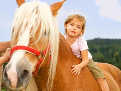 horseriding с детьми