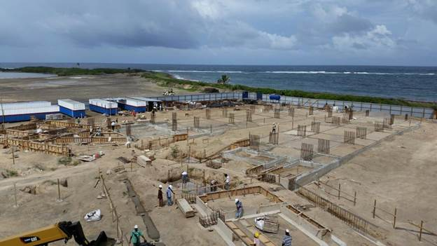 строительство вилл Сент-Китс и Невис