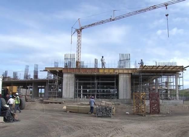 строительство Сент-Китс и Невис