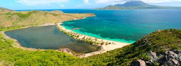 берег Сент-Китс и Невис