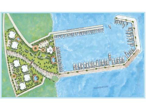 проект марины Tamarind Cove Marina