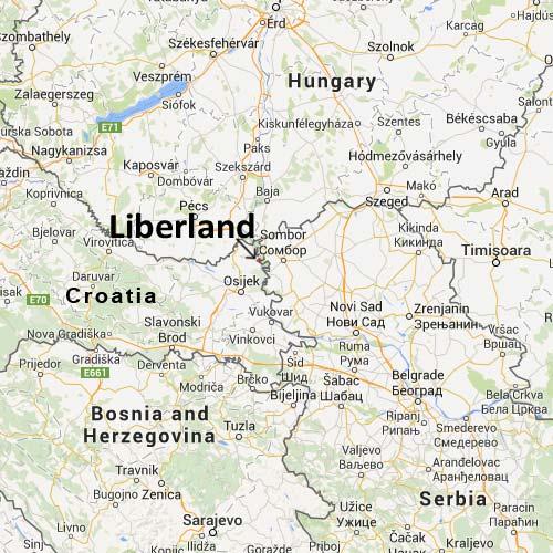 Либерландия – самая молодая микро-нация в мире