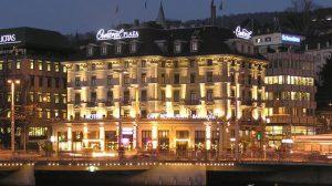 Цюрих, Швейцария — Central Plaza Hotel