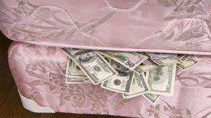 Спрятать свои богатства