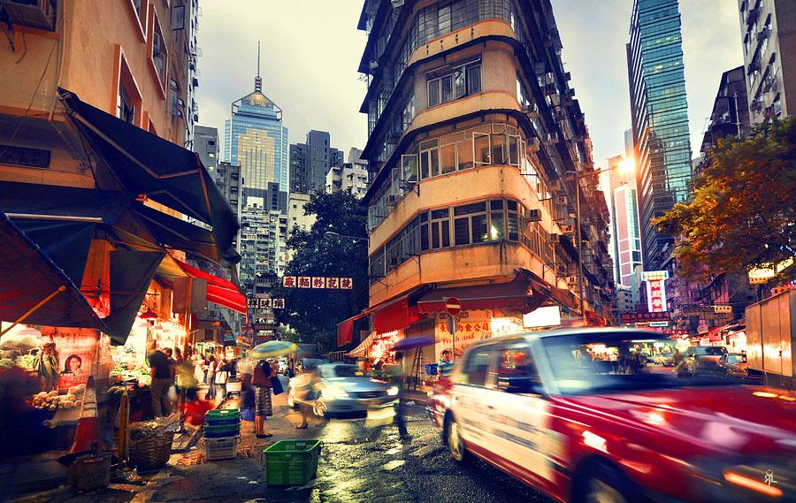 Ночная жизнь в Гонконге