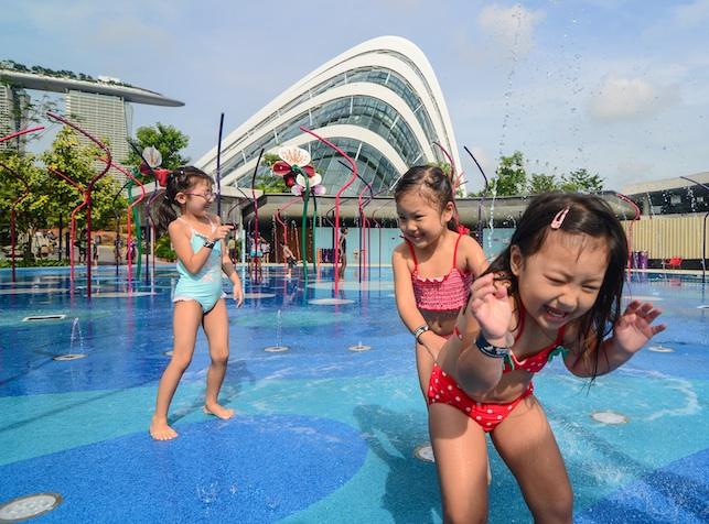 Лучшие аквапарки Сингапура