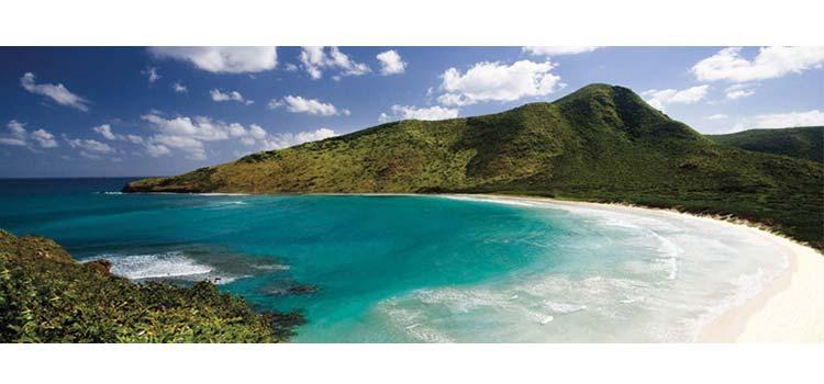 пляж Невис