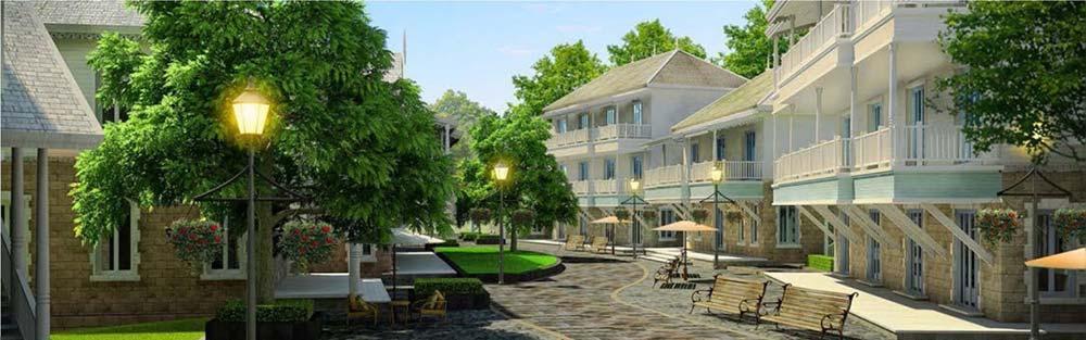 проект деревни Сент-Китс и Невис