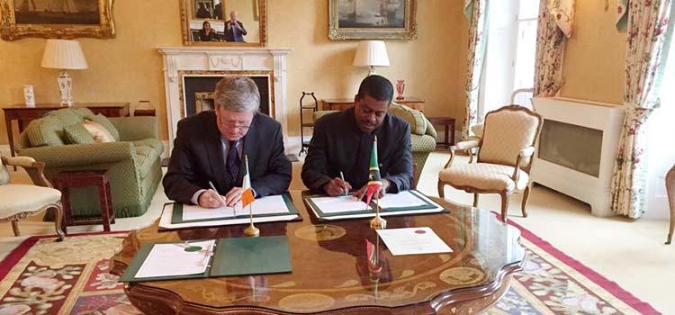 Сент-Китс и Невис заключает соглашение об обмене налоговой информацией с Ирландией