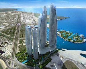 на работу в Абу-Даби