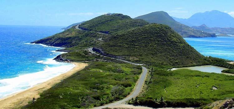 горы Сент-Китс и Невис