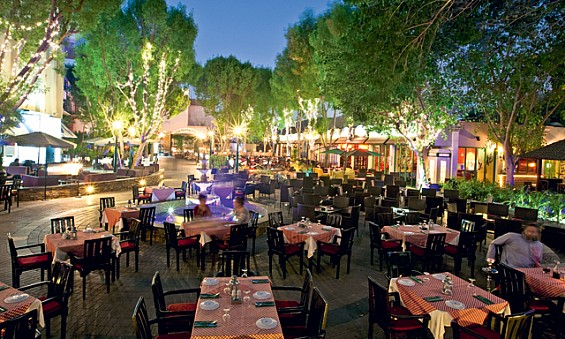 ресторан Century Village в Дубае