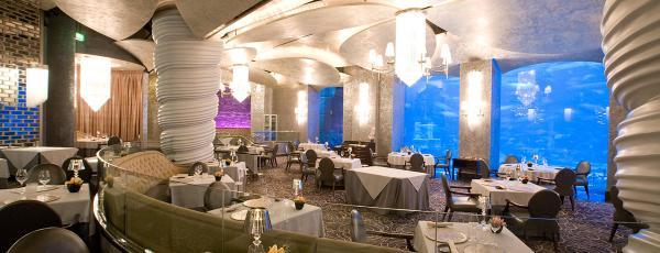 ресторан Ossiano в Дубае