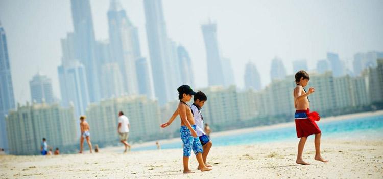 Дубай с грудным ребенком квартира барселона у моря