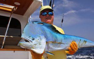 Рыбалка в Панамском канале