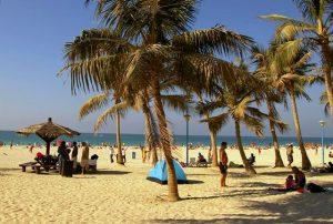 Jumeirah beach park in Dubai, UAE, November 2007