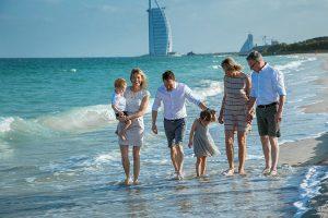 Семейная жизнь и уход за ребенком для экспатов в ОАЭ