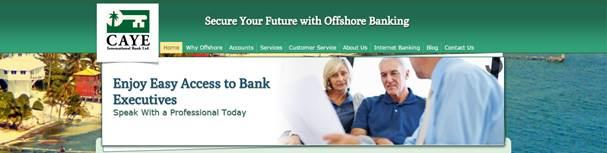 Корпоративный счет в банке Caye International Bank