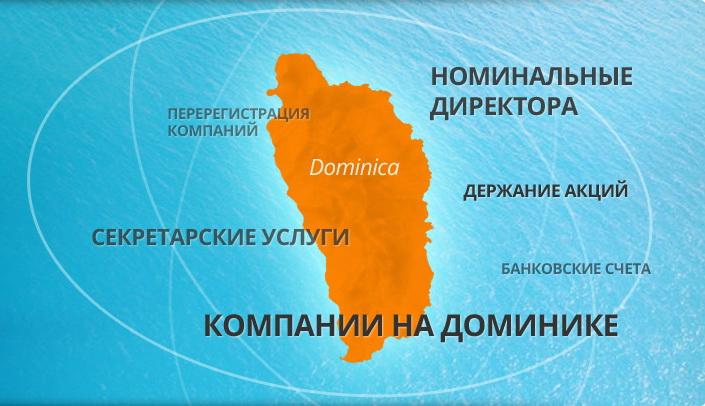 Оффшорная компания в Доминике со счетом в Белизе в банке
