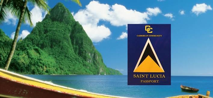 Получить второе гражданство и паспорт Сент-Люсии за инвестиции