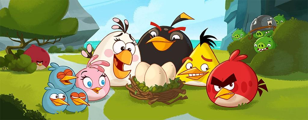 стратегия птичек из Angry Birds совершенно не подходит для защиты ваших активов