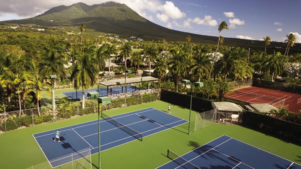 поле для тениса в Сент-Китс и Невис