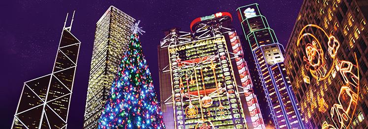 Встречаем Рождество и Новый год в Гонконге