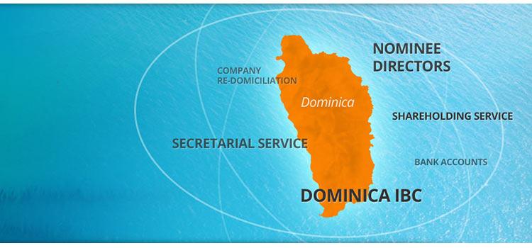 Зарегистрировать компанию в Доминике онлайн из Москвы