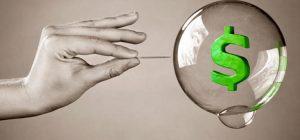 Как заметить очевидный пузырь в экономике и не прогореть